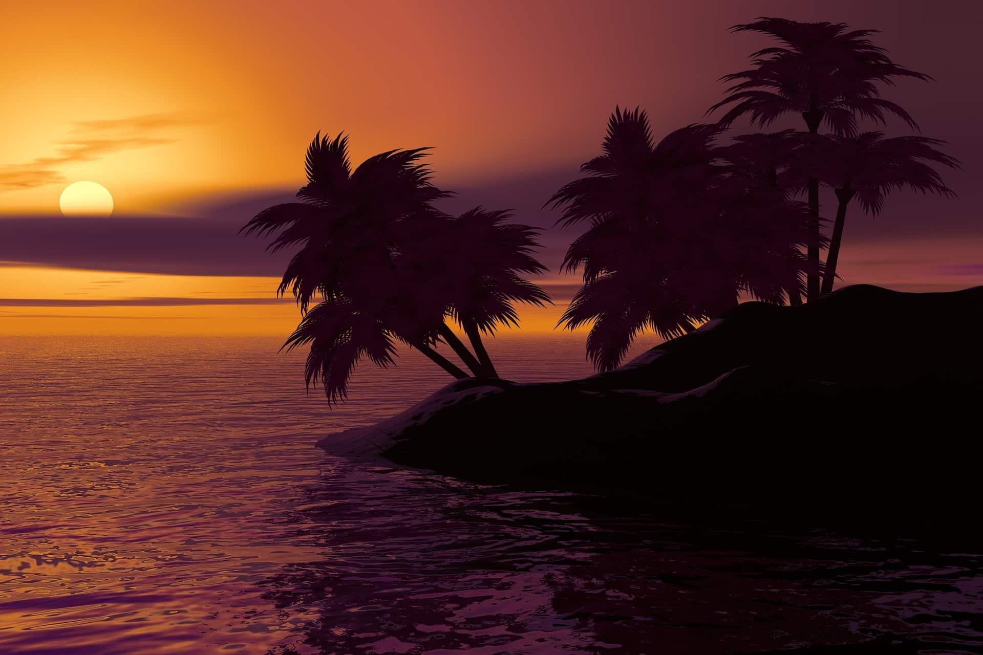 Caribbean Yacht Charter Sunset