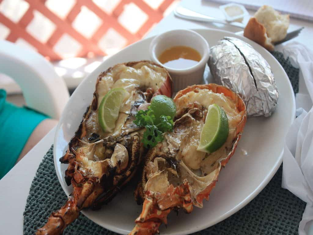 BVI Yacht Charter Anegada Lobster Lunch