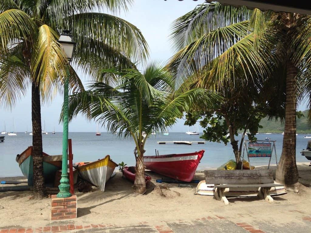Martinique Yacht Charter Ashore Grand Anse d'Arlet