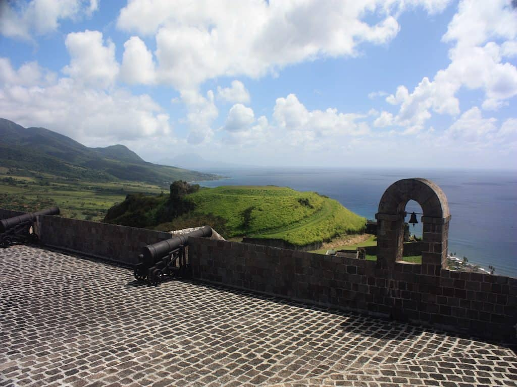 St Kitts Yacht Charter Brimstone Fort Views