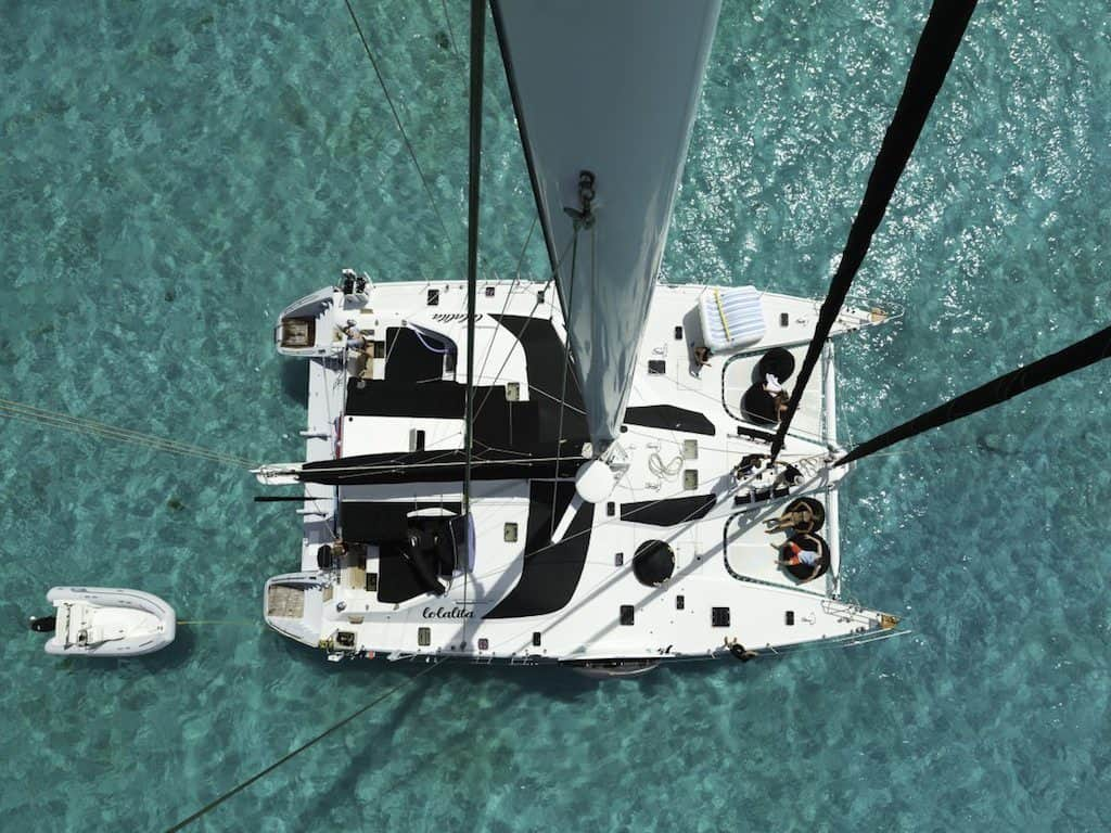 Catamaran Yacht Charter Double Deck Space