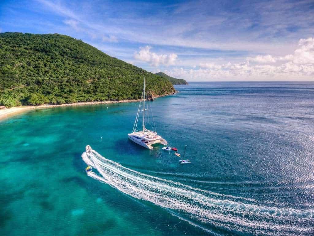 Catamaran Yacht Charter Watersports Toys