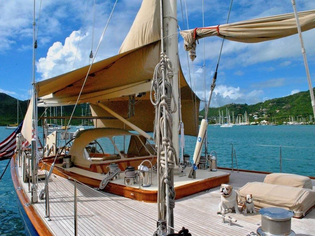 Classic Yacht Charter Antigua