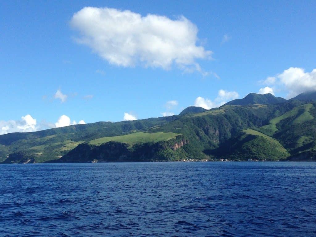 Dominica Yacht Charter Coastline