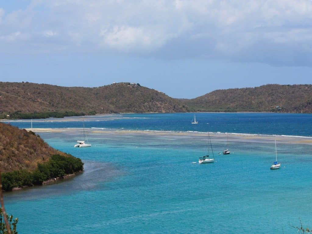 Spanish Virgin Islands Yacht Charter Culebra