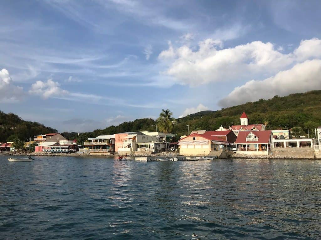 Guadeloupe Yacht Charter Deshaies Fishing Port