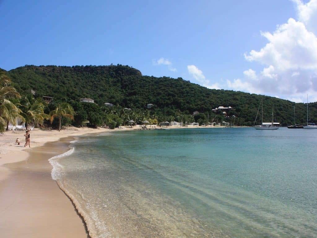 Antigua Yacht Charter Galleon Beach