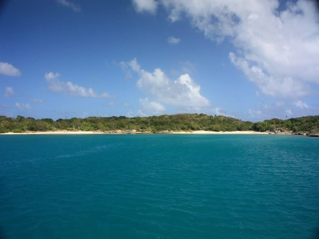 Antigua Yacht Charter Green Island