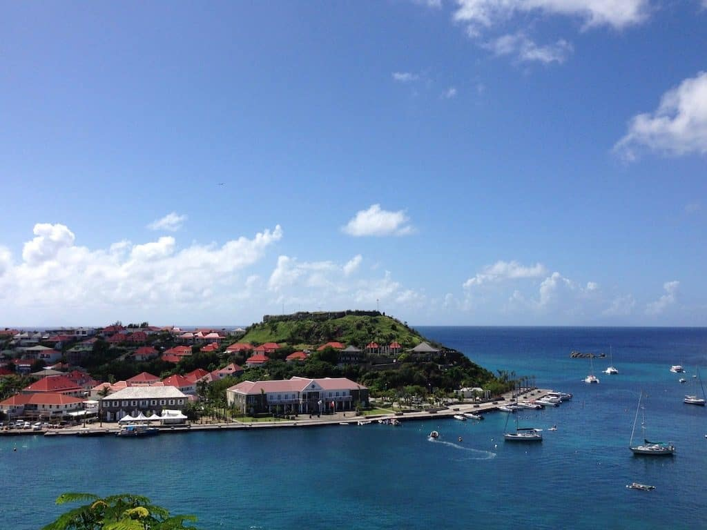 St Barths Yacht Charter Gustavia Habour Entrance