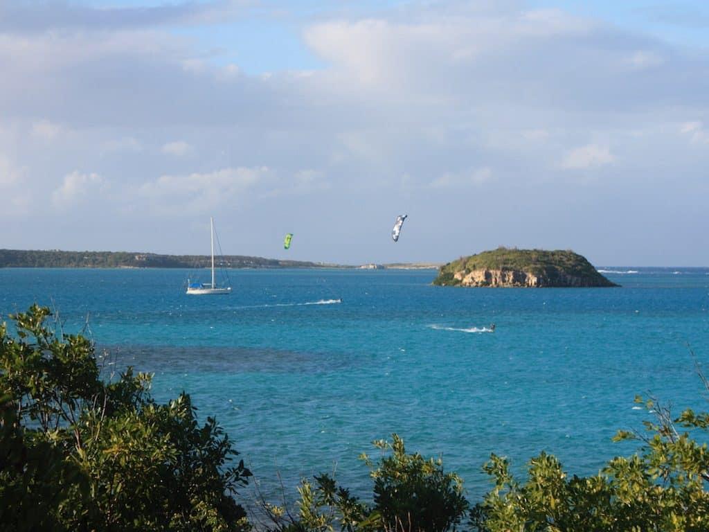 Antigua Yacht Charter Kitesurfing Green Island