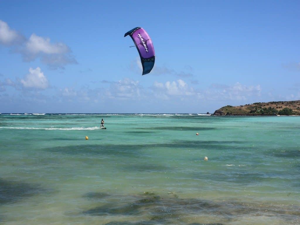 St Barths Yacht Charter Kitesurfing