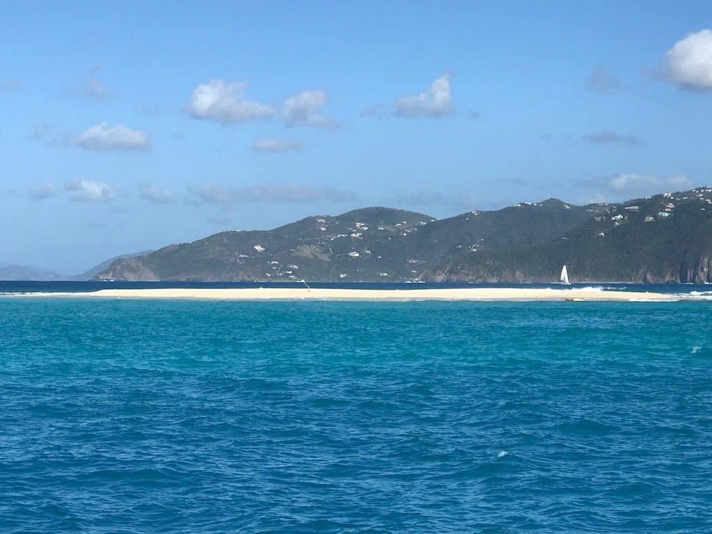 BVI Yacht Charter Post Irma Sandy Spit