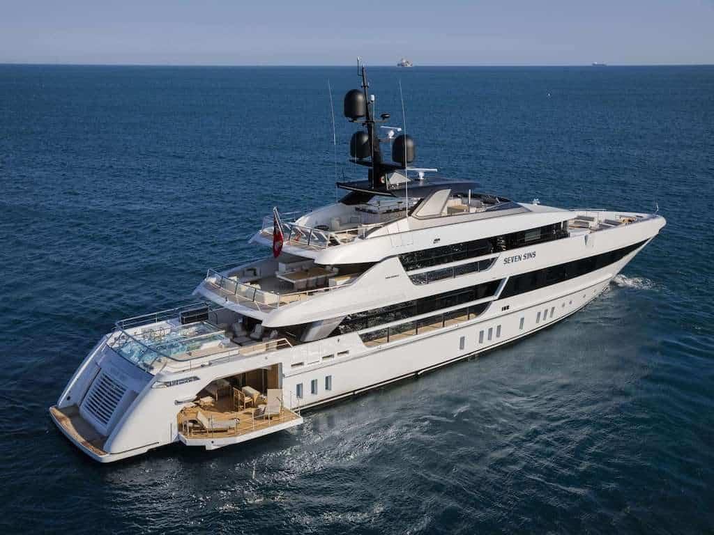 Seven Sins Superyacht Charter