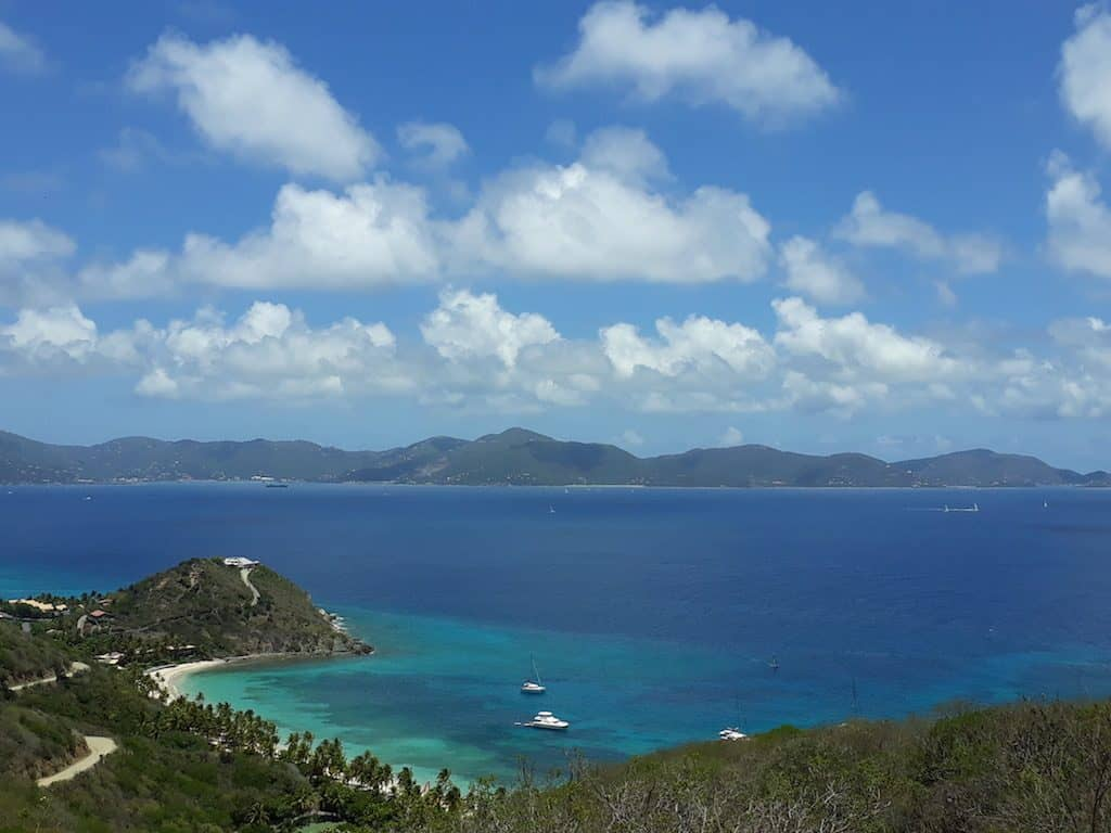 BVI Yacht Charter Sir Frances Drake Channel