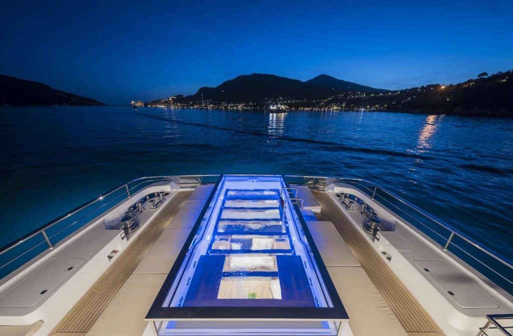 Superyacht Charter Swimming Pool