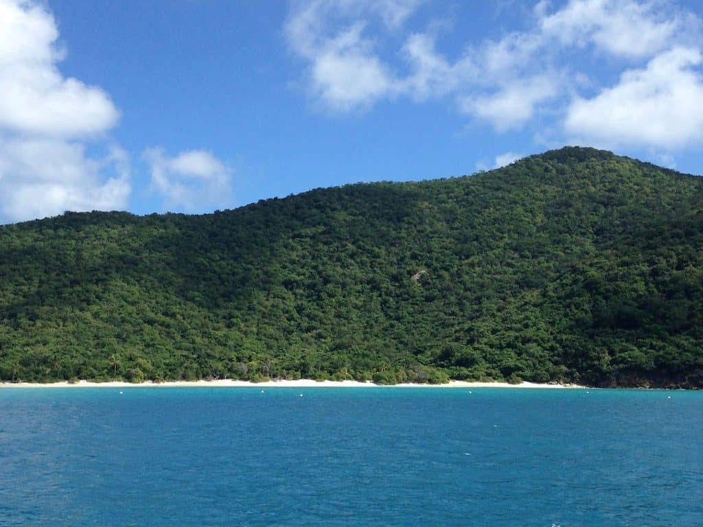 BVI Yacht Charter White Bay Guana Island