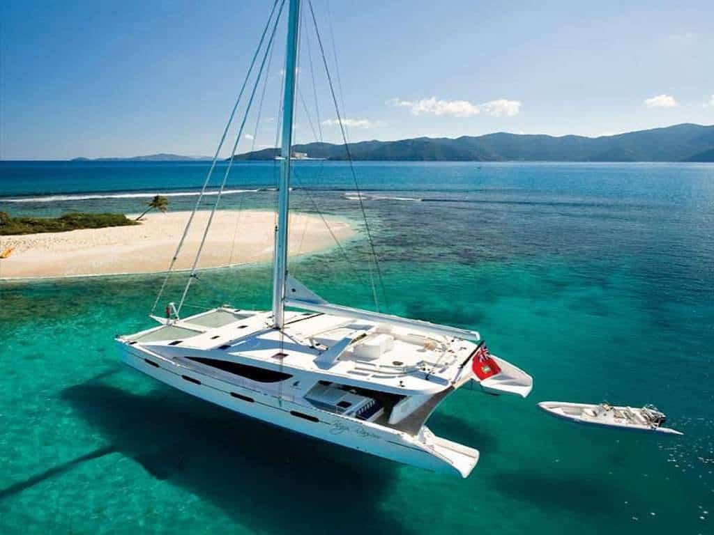 BVI Luxury Catamaran Yacht Charter
