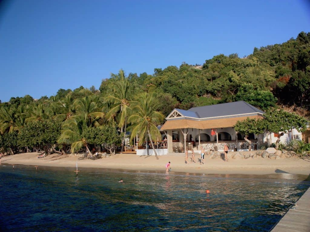 Cooper Island Beach Club on a BVI Crewed Yacht Charter